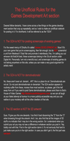 Unofficial Rules for the GDA by themadgrenadier99