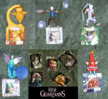 Rise of the Guardians McDonalds Toys by Hot-Gothics