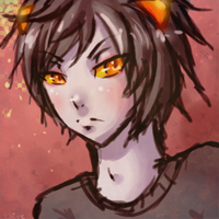 Karkat sketch by xXChireXx