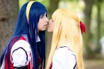 KnM - I kissed a girl by Rayi-kun