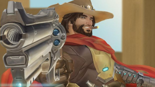 Mccree by Thunder-B