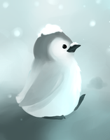 Baby Penguin by Kyuwa-kun