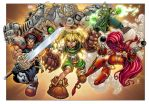 Battle Chasers by AlonsoEspinoza