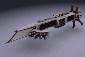 Kothryn Guard cruiser by failurecrusade