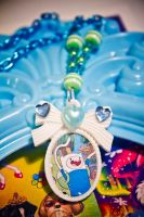 Finn the human Cameo - Octopug Accessories by falt-photo