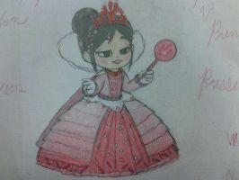(SPOILER ALERT) Princess Vanellope Von Schweetz by Youngngifted