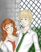 Rose and Scorpius by dancinghamtoro