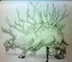 Dauh Elk by A-Nessessary-Studio