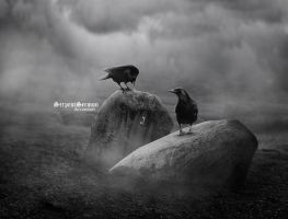 Huginn and Muninn. by SerpentSermon