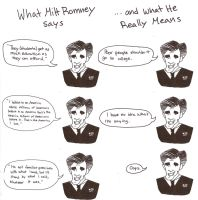 What Mitt Romney Says, and What He Really Means by moomoo17