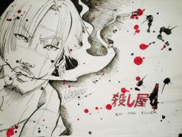 Kakihara: Ichi The Killer by Z-OMBOID