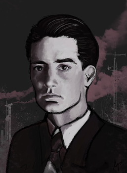 Agent Cooper by AnnaHatWunsch