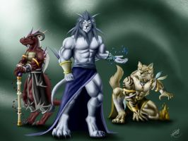 The Three Grandes Maestros by SymbolHero