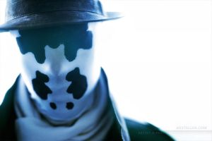 Rorschach himself by Anstellos