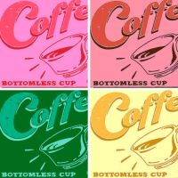 Coffee ad pop art by DevintheCool