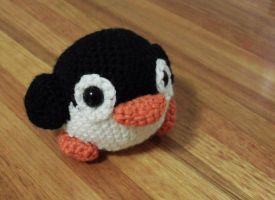 Crochet Penguin by Jequila