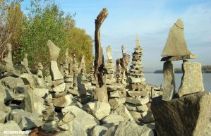Land art in hungary by tamas kanya(stone balance) by tom-tom1969