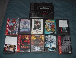 My Sega Genesis Collection by BMoles