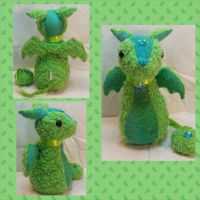Con Plush 15 - Knole Dragon Guardian Plush by mihijime