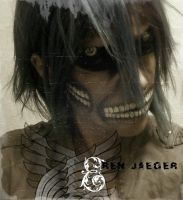 Shingeki no Kyojin - Eren Jaeger titan form by Bella-Eugenia