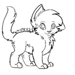 Free Paint-Friendly Cat Adoptable(s) Base by Venusthecat32