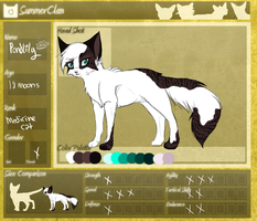 Pondlily Medicine Cat of Sun Clan by ipann