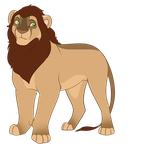 Male lion auction /CLOSED/ by Karksy
