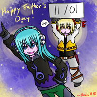 Happy Father's Day! by Shadow-Rukario