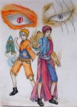 Friends (Naruto and Gaara) by xXxMyWonderlandxXx