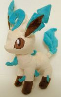 Leafeon plush by FollyLolly