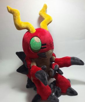 Digimon - Tentomon custom plush by Kitamon