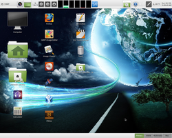 LinuxMint 16 (MATE) - Desktop by paradigm-shifting