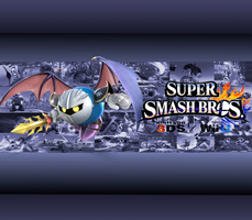 Meta Knight Wallpaper by CrossoverGamer