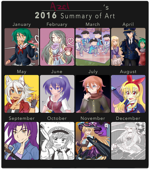 2016 Summary by Azel-Arts