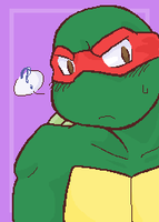 Raph Puzzled by Fuwa2-Kyara