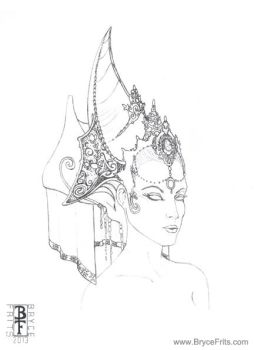 Fantasy Headdress 1 by BryceFrits