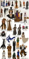 Noche Character List by TheInfamousJoeLinder
