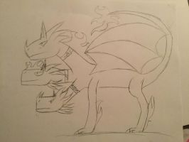 Sparky Leo and SPARTA by rayquaza2828