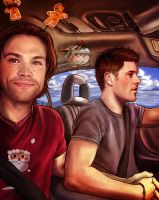 The Car Ride by mlle-gabrielle