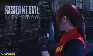 Claire Redfield cosplay game of oblivion by VickyxRedfield