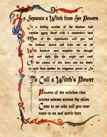 To Separate A Witch From Her Powers by Charmed-BOS