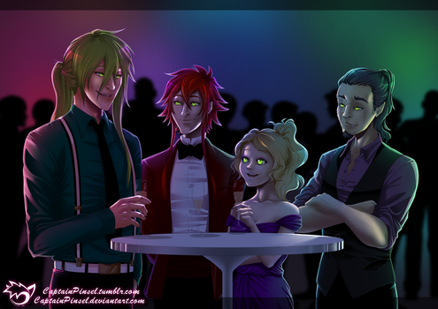 .: Prom :. by CaptainPinsel