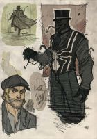 Venom Steampunk Re-Design by DenisM79