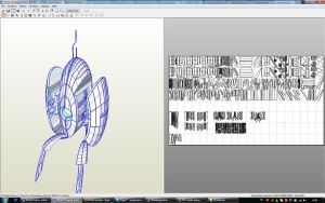 portal turret - model by Bevbor @ 405th, unfold me by EyeofSauron