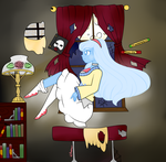 A wonderful night for reading by Ashourii