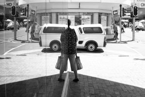 street reflection by StephensPhotos