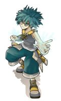 Feca + wakfu + by dofus-art