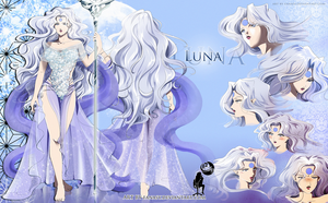 Luna ' sheet by FanasY
