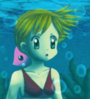 Misty Underwater by KawaiiHarukaChan