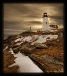 Pemaquid Point Light by goldomega